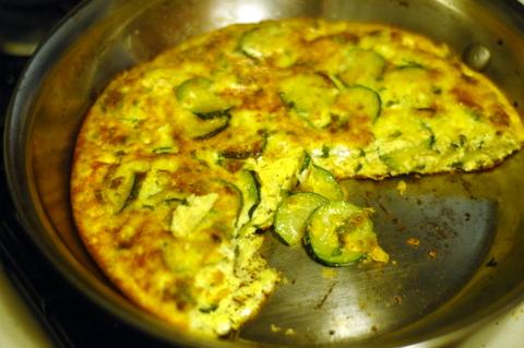 CT on a budget: Recipe share: zucchini frittata