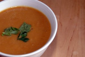 butternut squash and miso soup