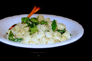 lemon ricotta basil pasta 2