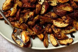 Crispy mustard roasted potatoes | Superspark